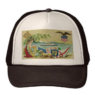 irish vintage love for erin trucker hat
