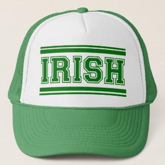 Irish Vintage Varsity Trucker Hat