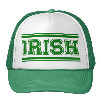 Irish Vintage Varsity Trucker Hat