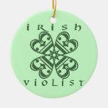 Irish Violist Ornaments