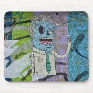 Irish Wall Stencil Mouse Pad