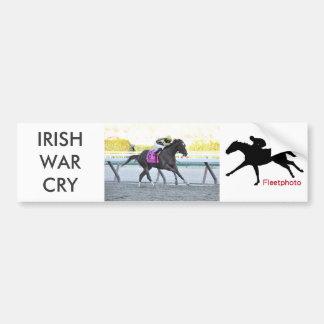 Irish War Cry Bumper Sticker