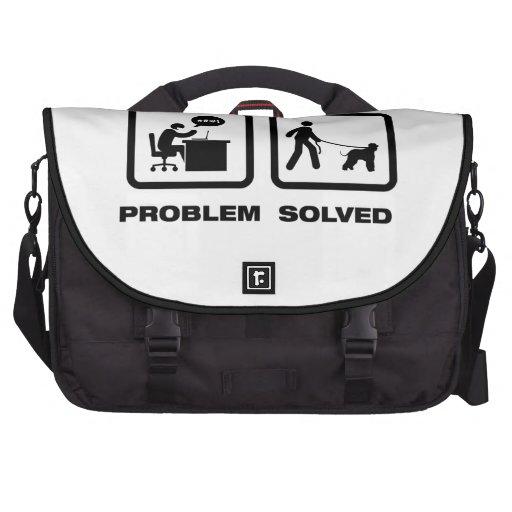 Irish Water Spaniel Bag For Laptop