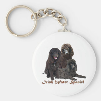Irish Water Spaniel Can't Have Just One Keychain