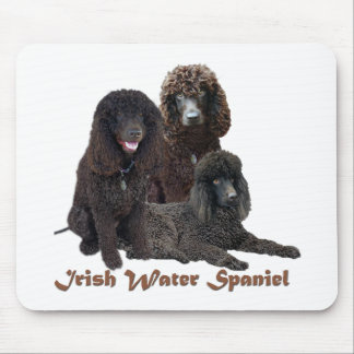 Irish Water Spaniel Can't Have Just One Mouse Pad