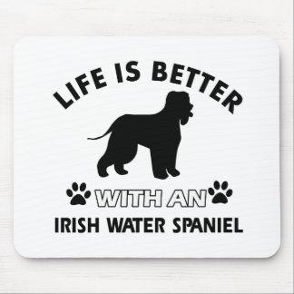 Irish Water Spaniel Dog breed Mouse Pad