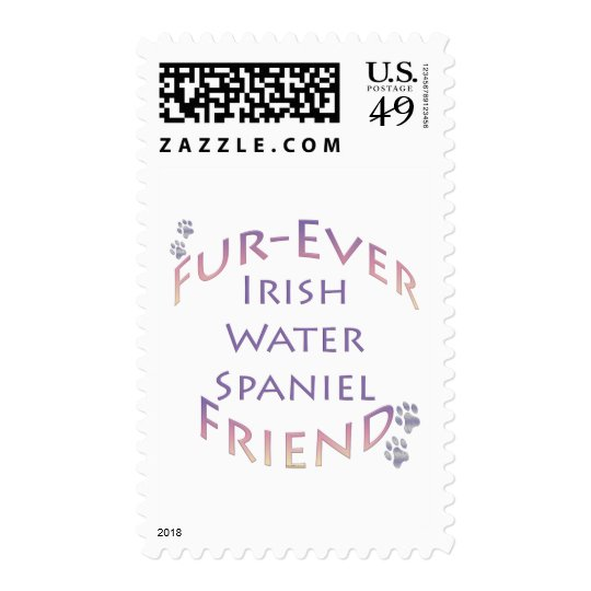 Irish Water Spaniel Furever Postage