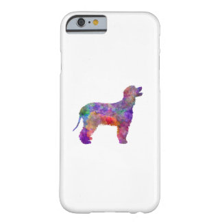 Irish Water Spaniel in watercolor 2 Barely There iPhone 6 Case