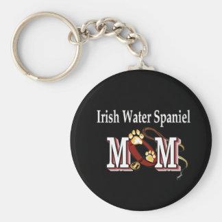 Irish Water Spaniel Mom Gifts Keychain