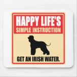 Irish Water Spaniel Mouse Mat