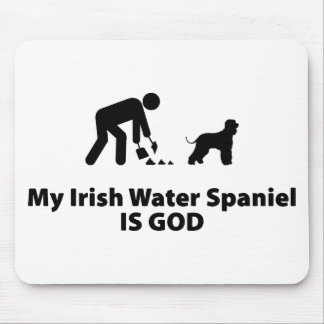 Irish Water Spaniel Mouse Pad
