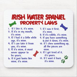 IRISH WATER SPANIEL Property Laws 2 Mouse Mats