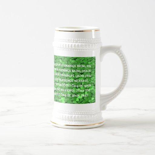 Irish  Wedding Blessing - Customiz... - Customized Coffee Mug