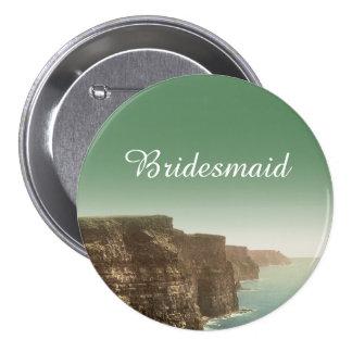 Irish Wedding Cliffs of Moher Bridesmaid Pin