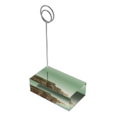 Irish Wedding Cliffs Of Moher Table Card Holder at Zazzle