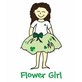 Irish Wedding Flower Girl t-shirt from lesruba designs