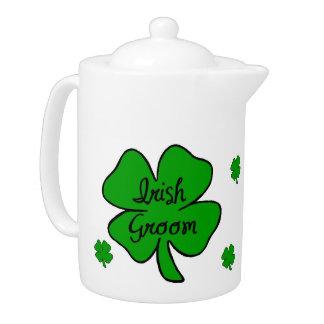 Irish Wedding Groom