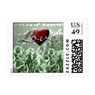 Irish Wedding Invitation Love Postage Stamps