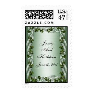 Irish wedding Invitation Postage