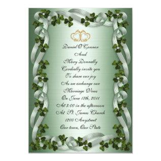 Irish Wedding Invitations at Zazzle