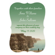 Irish Wedding Invitations Cliffs Of Moher at Zazzle