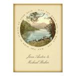 Irish Wedding Lake in Kerry Ireland and Blessing Card