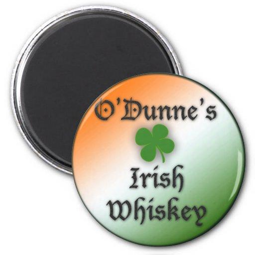 Irish Whiskey 2 Inch Round Magnet