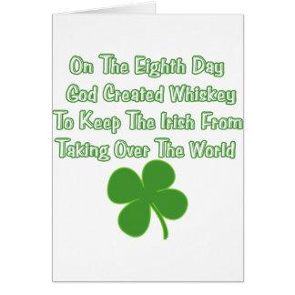 Irish Whiskey Card