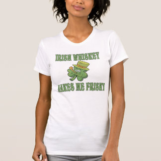 Irish Whiskey Makes Me Frisky Tshirt