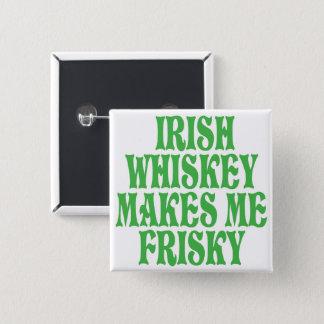Irish Whiskey Pinback Button