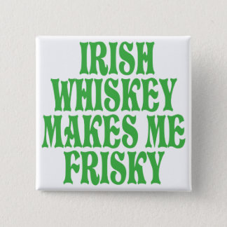 Irish Whiskey Pinback Button