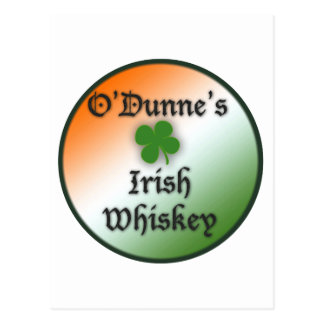 Irish Whiskey Postcard