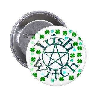 Irish Witch Pin