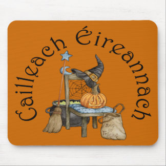 'Irish Witch' in Gaelic Mouse Pad