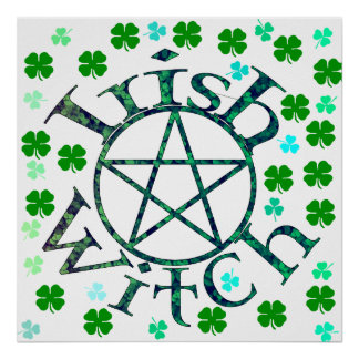 Irish Witch Posters