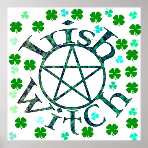 Irish Witch Poster