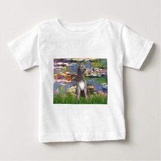 Irish WOlfhound 1 - Lilies 2 Baby T-Shirt