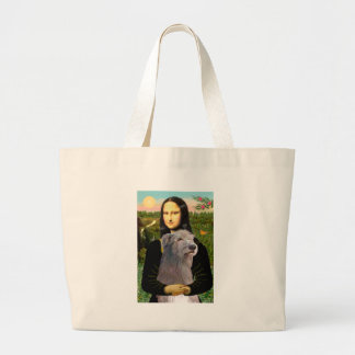 Irish Wolfhound 1 - Mona Lisa Tote Bag