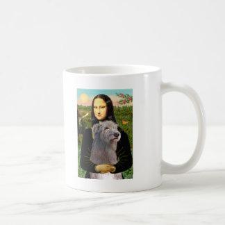 Irish Wolfhound 1 - Mona Lisa Classic White Coffee Mug