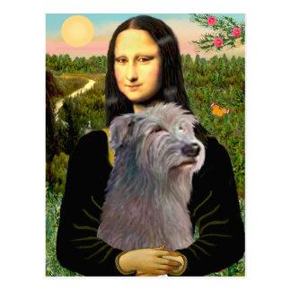 Irish Wolfhound 1 - Mona Lisa Postcard