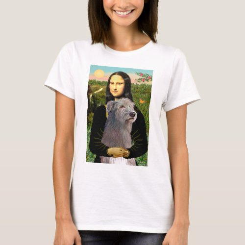 Irish Wolfhound 1 _ Mona Lisa T_Shirt