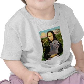 Irish Wolfhound 1 - Mona Lisa Tee Shirt