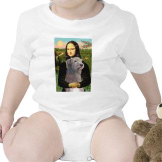 Irish Wolfhound 1 - Mona Lisa T Shirts