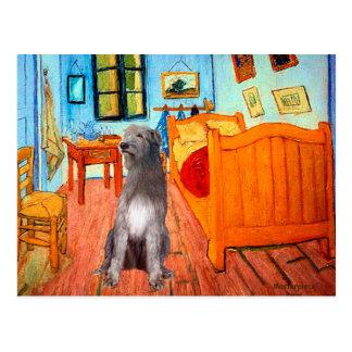 Irish Wolfhound 1 - Room at Arles Postcard