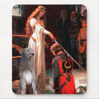 Irish Wolfhound 1 - The Accolade Mouse Pad