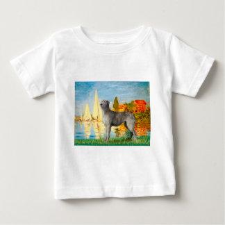 Irish Wolfhound 2 - Sailboats 2 Baby T-Shirt