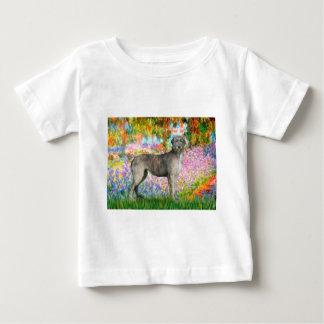 Irish Wolfhound 3 - Garden Baby T-Shirt
