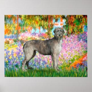 Irish Wolfhound 3 - Garden Posters