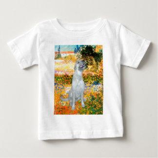Irish Wolfhound 4 - Garden (VG) Baby T-Shirt