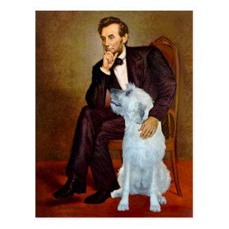 Irish Wolfhound 4 - Lincoln Postcard